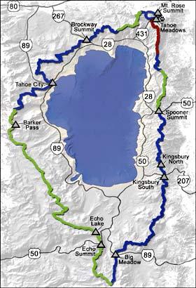 TRT map